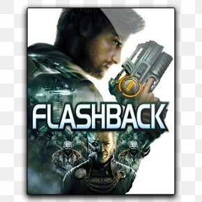 Flashback - Flashback Xbox 360 Video Game PlayStation 3 Computer Software PNG