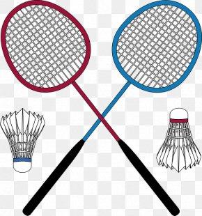 Sports Equipment Speed Badminton - Badminton Cartoon PNG