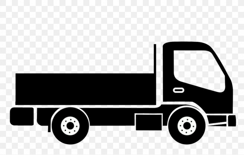 Car Pickup Truck Commercial Vehicle Png 1024x651px Car Automotive Design Automotive Exterior Black And White Box