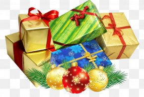 Christmas Present - Christmas Gift Desktop Wallpaper Clip Art PNG
