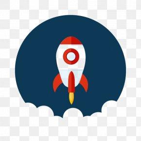 Blue Rocket Panels - Flight Rocket Launch Space Launch PNG