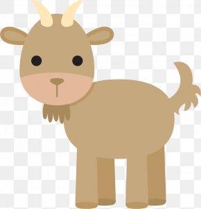 Goat Cartoon - Goat Cartoon Drawing PNG