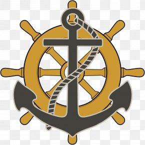 Anchor - Ship's Wheel Steering Wheel Boat Clip Art PNG