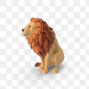 Lion - Lion Leo Big Cat Question Mark PNG