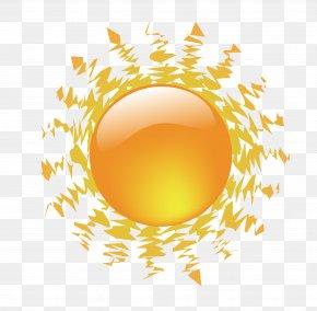 Summer Sun Design Vector Material - Cartoon Drawing PNG