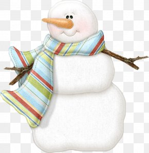 Snowman - Snowman Christmas Message Clip Art PNG