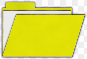 Clipboard Rectangle - Yellow Paper Product Clip Art Folder Paper PNG