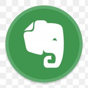 Evernote - Grass Trademark Symbol Brand PNG