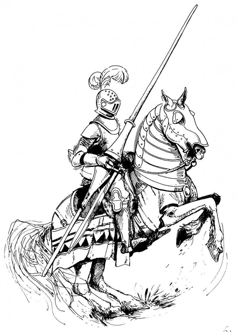 Horse Knight Drawing Equestrian Clip Art Png 1150x1600px Horse Art Artwork Black And White Cartoon Download