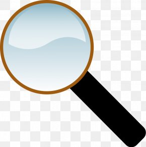 Clip On Magnifying Glass - Magnifying Glass Free Content Clip Art PNG