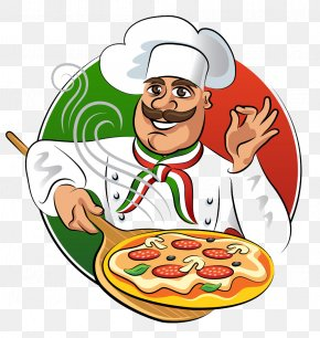 Chef Food Design - Chef Cooking Food Illustration PNG
