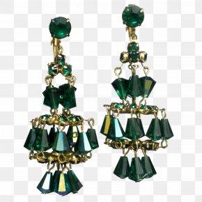 Emerald - Emerald Earring Jewellery Costume Jewelry Designer PNG