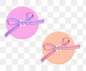 Floating Button Bow - Shoelace Knot Button Download Icon PNG