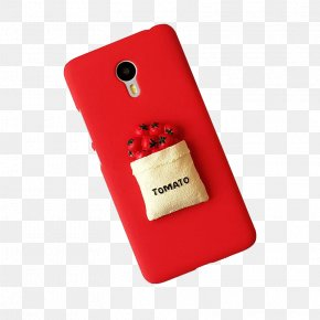 Red Tomato Cartoon Phone Case - Smartphone Nokia X6 Cartoon PNG