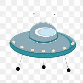 Ufo Vector - Flying Saucer Unidentified Flying Object Cartoon Clip Art PNG