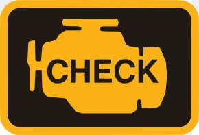 Engine - Car Check Engine Light Motor Vehicle Service Automobile Repair Shop PNG