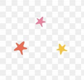 Cartoon Starfish - Columbus WXMG Radio Station Illustration PNG