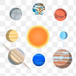 Vector Solar System - Earth Solar System Clip Art PNG