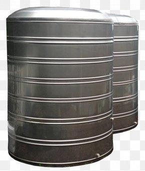 Stainless Steel - Stainless Steel Water Tank Rainwater Harvesting PNG