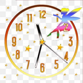 Cartoon Watches - Clock Human Behavior Yellow Area Clip Art PNG