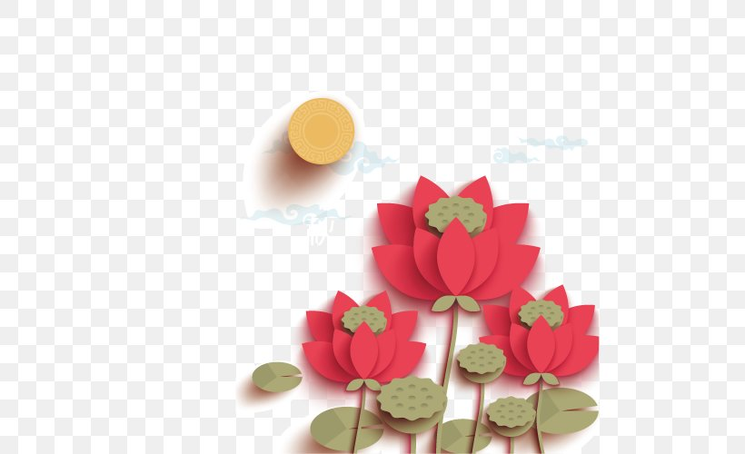 Mooncake Mid-Autumn Festival Public Holiday Nelumbo Nucifera Traditional Chinese Holidays, PNG, 500x500px, Mooncake, Art, Change, Chinese New Year, Festival Download Free
