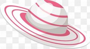 Vector Hat - Straw Hat Clip Art PNG