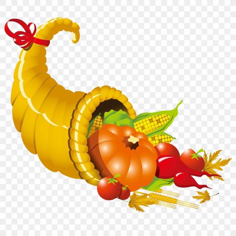 Cornucopia Thanksgiving Clip Art, PNG, 2500x2500px, Cornucopia, Autocad Dxf, Calabaza, Cucurbita, Document Download Free