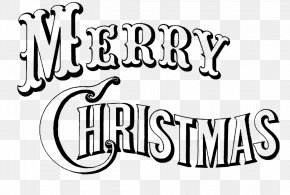 Christmas - Christmas Greeting & Note Cards Wish Black And White Clip Art PNG