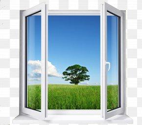 Window - Window Blinds & Shades VEKA Plastic Door PNG
