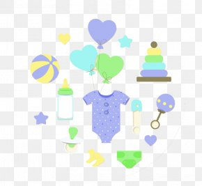 Cute Baby - Diaper Euclidean Vector Rattle Photography PNG