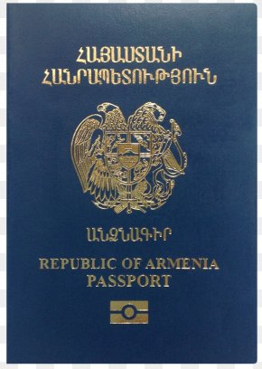 Blue Passport - Armenian Passport Nagorno-Karabakh Republic Travel Visa PNG