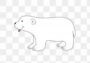 Polar Bear - Polar Bear Cat Clip Art PNG