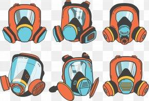 Gas Mask - Gas Mask Respirator Euclidean Vector PNG