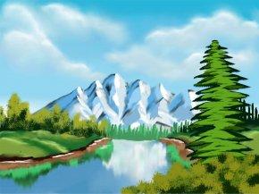 Cute Nature Cliparts - Nature Clip Art PNG