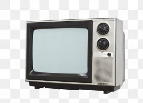White Old TV - Chroma Key Television Set Stock Photography PNG