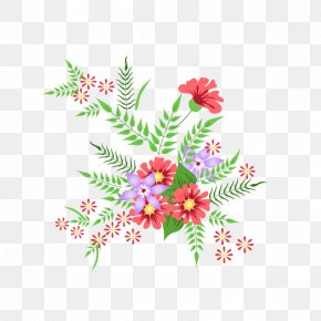 Plant Flowers - Floral Design Cartoon PNG
