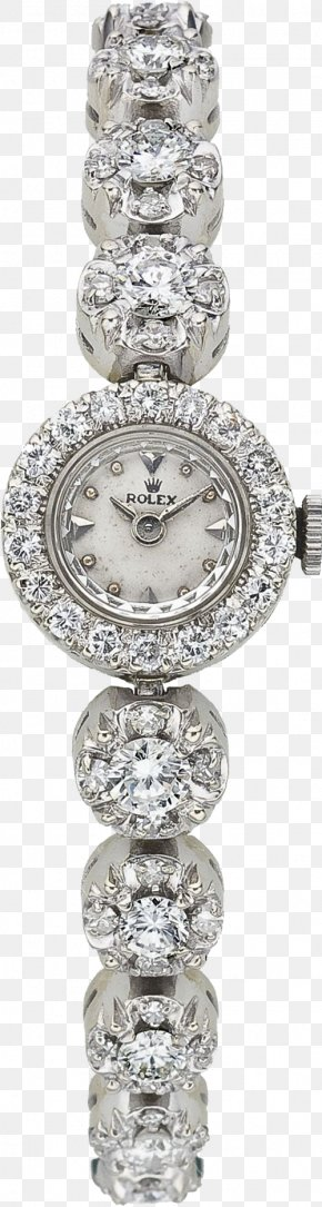 Ms. Diamond Silver - Rolex Datejust Chanel Rolex Submariner Watch Diamond PNG