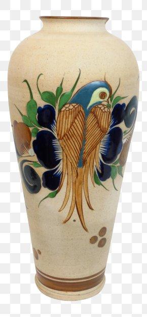 Hand-painted Flower Pot - Vase Talavera Pottery Ceramic Flowerpot PNG