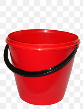Plastic Red Bucket Image - Bucket Icon Computer File PNG
