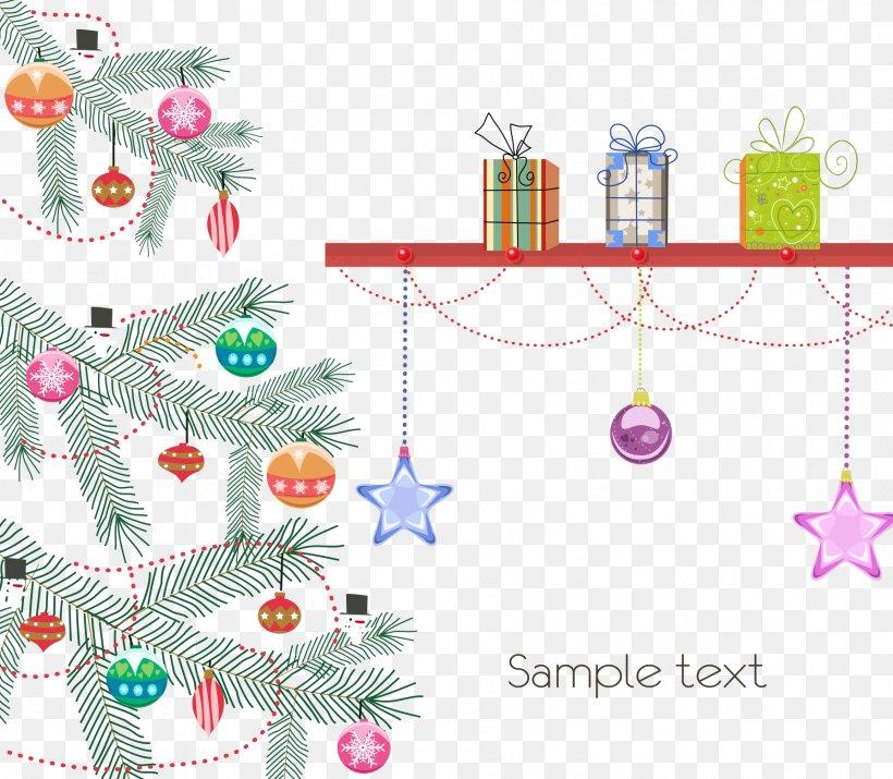 Christmas Tree Santa Claus Reindeer Christmas Ornament, PNG, 1787x1560px, Christmas Tree, Branch, Christmas, Christmas Card, Christmas Decoration Download Free