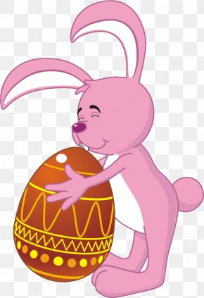 Easter - Easter Bunny Easter Egg Clip Art PNG