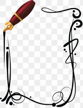 Pen - Paper Ballpoint Pen Art Clip Art PNG