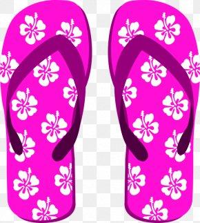 Beach Sandal Transparent - Slipper Flip-flops Shoe Sandal PNG
