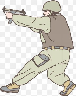 Shoot The Soldier - Animation Clip Art PNG