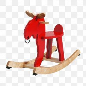 Rocking Toy Moose - Moose IKEA Toy Rocking Horse Child PNG