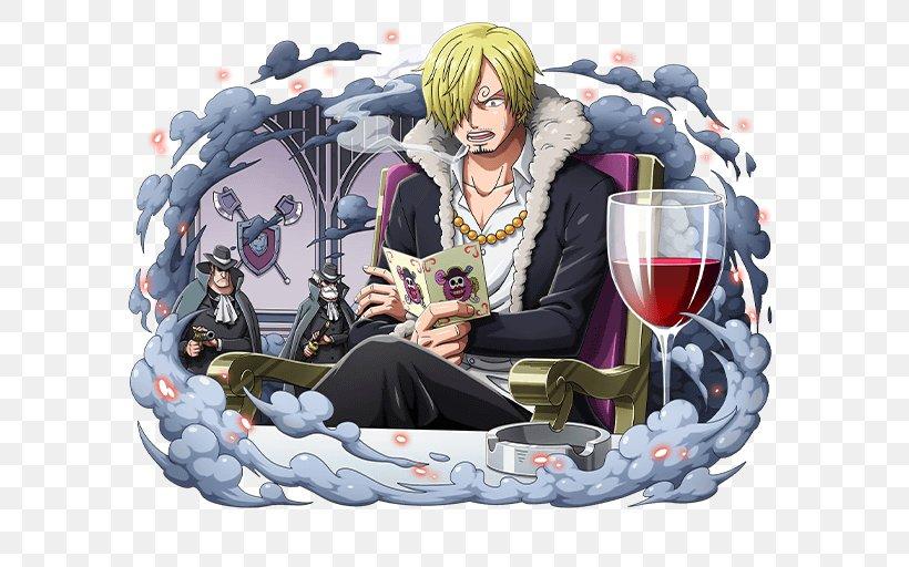 Vinsmoke Sanji Monkey D. Luffy One Piece Treasure Cruise Roronoa Zoro Tony Tony Chopper, PNG, 640x512px, Watercolor, Cartoon, Flower, Frame, Heart Download Free