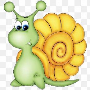 Sea Snail Cartoon - Clip Art Snail Snails And Slugs Cartoon Sea Snail PNG