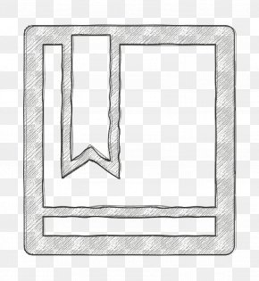 Rectangle Office Icon - Book Icon Bookmark Icon Office Icon PNG