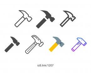 Hammer - Computer Font PNG