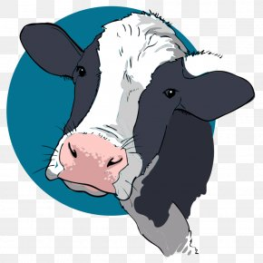Cow - T-shirt Cattle Hoodie Sticker Neckline PNG
